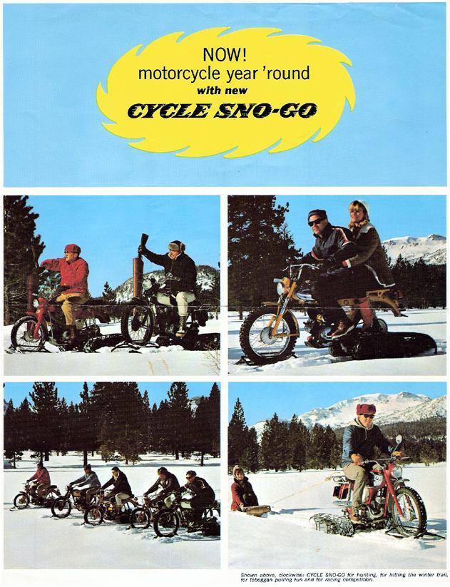 1966 CYCLE SNO GO