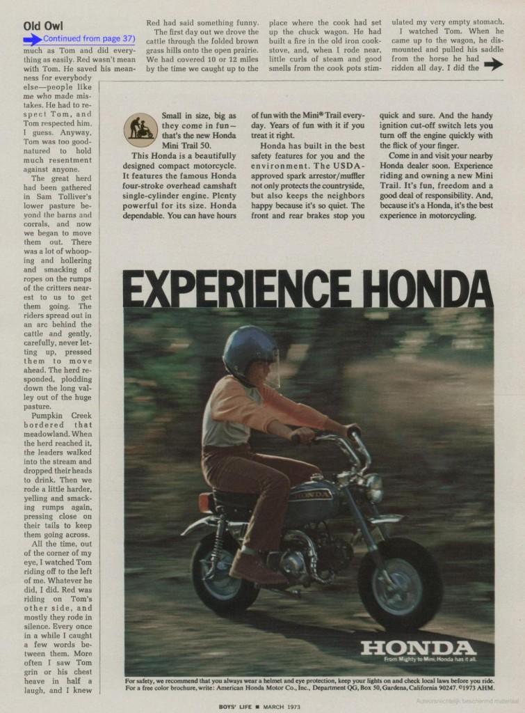 Boys' Life maart 1973